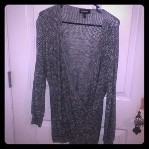 Grey and white sweater-brand new-never worn!
